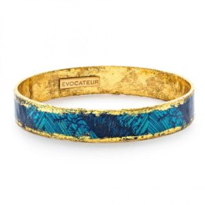 Blue Palm Bangle