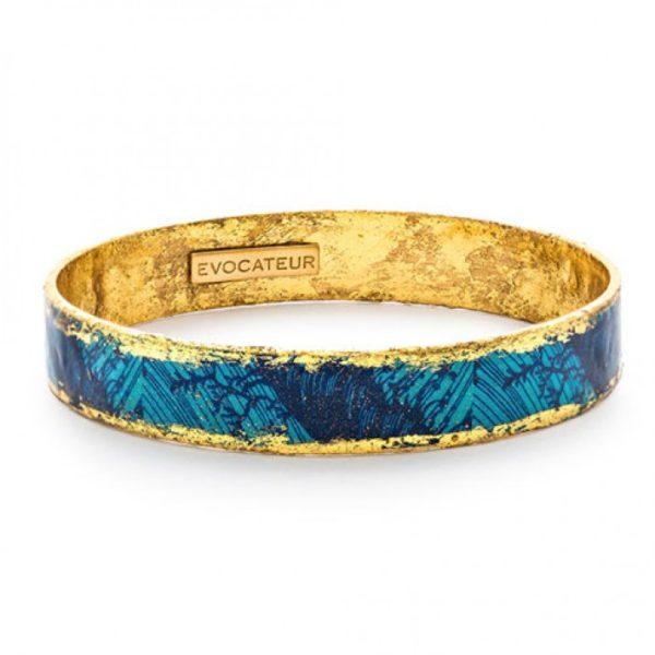 Blue Palm Bangle