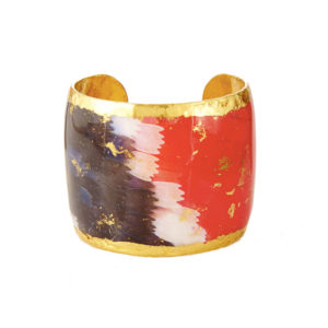 Black, White & Red Butterfly Wing Cuff