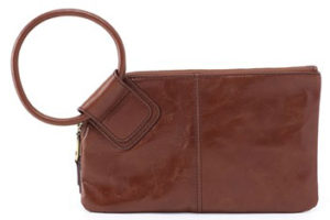 leather Sable Woodlands Clutch Wristlet by hobo the original