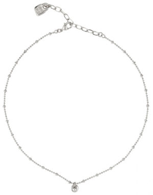 Simple silver-plated necklace with a circular mini charm. A jewel desgined to an active woman that can wear anytime and which it will be difficult to you to be unnoticed. A timeless piece made in Spain by UNOde50 and in a 100% handmade way.