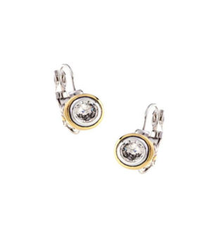 Bezel Set 6mm Cubic Zirconia Earrings by john medeiros