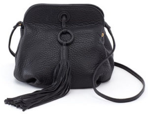 leather Birdy Crossbody Black by hobo the original