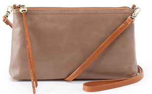 leather Darcy Cobblestone Crossbody by hobo the original
