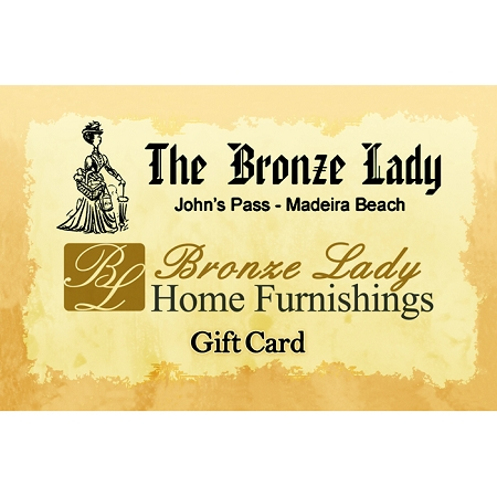 Bronze Lady Gift Card