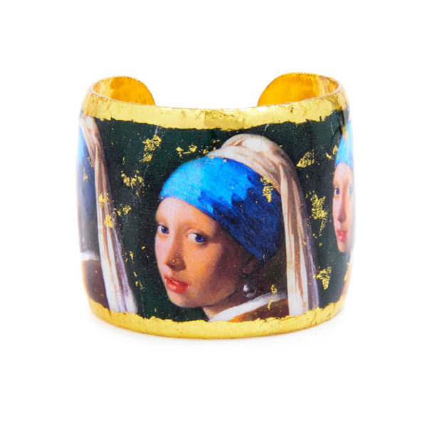 Girl with a Pearl Earring Cuff