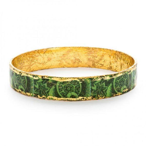 Green Kiwi Bangle