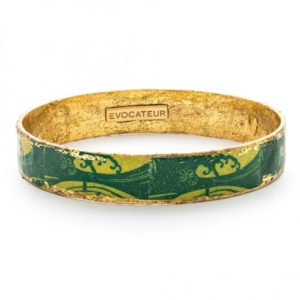 Green Wave Bangle