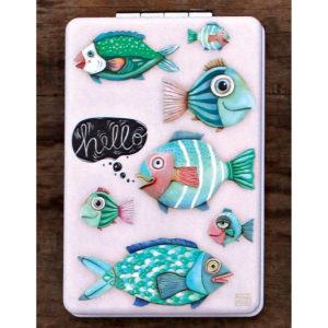 HELLO FISH COMPACT MIRROR