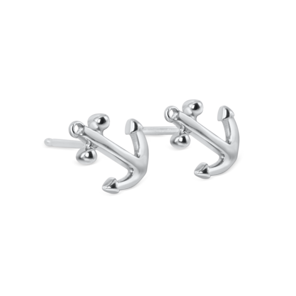 small anchor stud earrings nau-t-girl