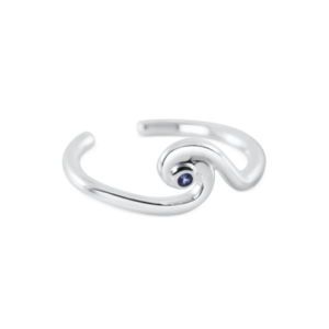 wave toe ring by nau-t-girl
