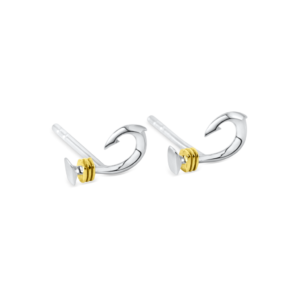 small hook stud earrings nau-t-girl