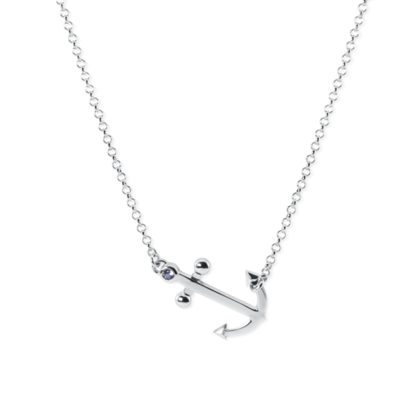 anchor necklace by nau-t-girl
