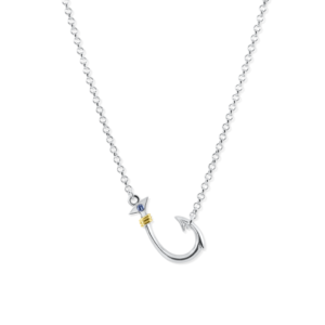 hook anchor necklace by nau-t-girl