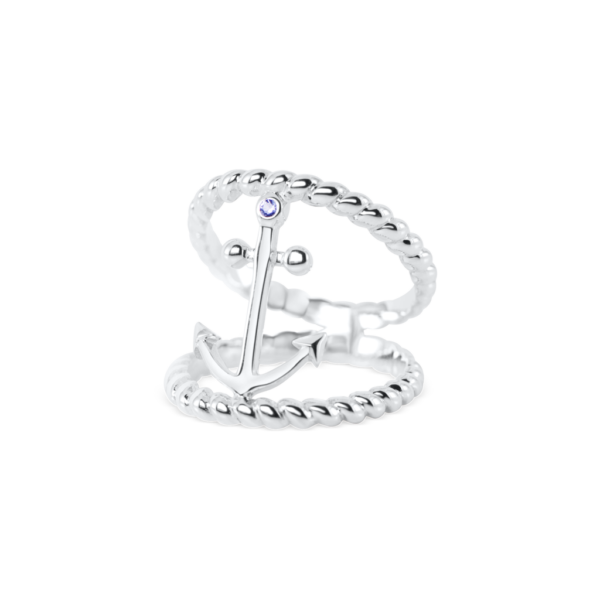 double anchor ring nau-t-girl