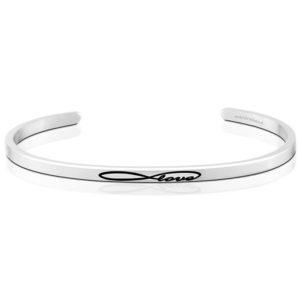 Infinite Love bangle Bracelet Silver