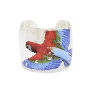 Macaw Cuff - Silver