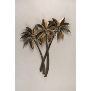 Three Palms crossing wall art