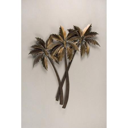 Three Palms crossing wall art