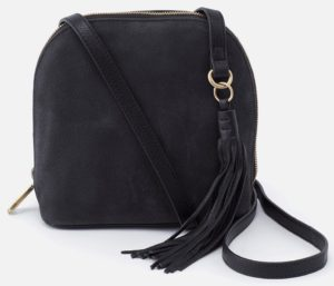 Nash Nubuck Black Crossbody