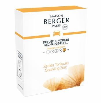 aroma energy car pack refill lampe berger maison berger car fragrance air purifier