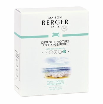 ocean breeze car pack refill lampe berger maison berger car fragrance air purifier