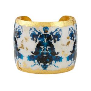 Rorschach Black & Blue Cuff