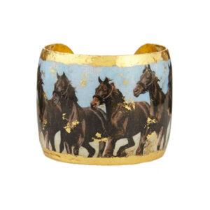 Running Horses Cuff