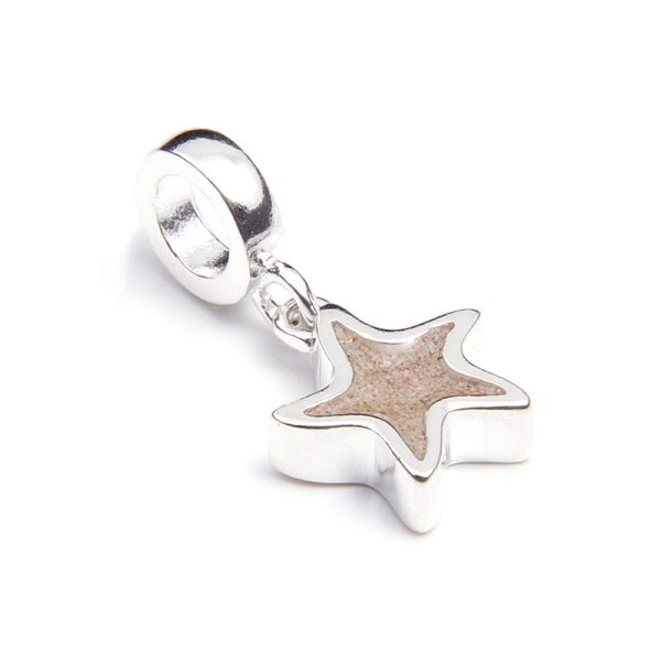 starfish port o call charm handcrafted in the USA by dune jewelry