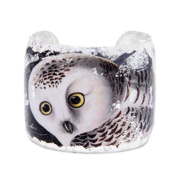 Snowy Owl Cuff