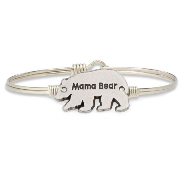 Mama Bear Bangle Bracelet by luca and danni