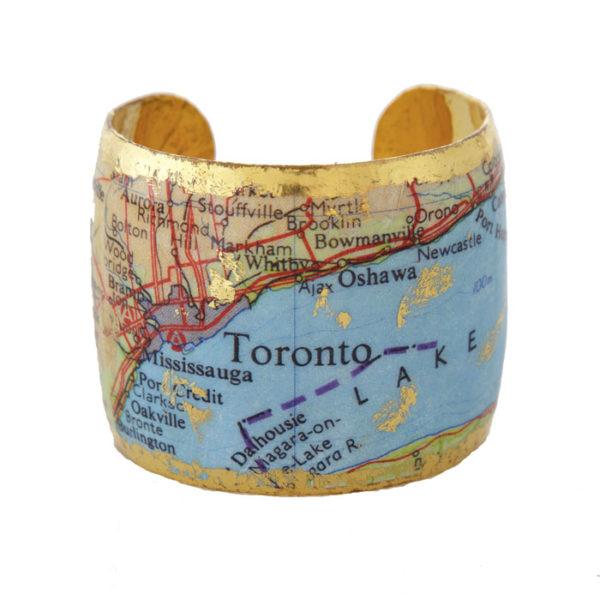 Toronto Map Cuff