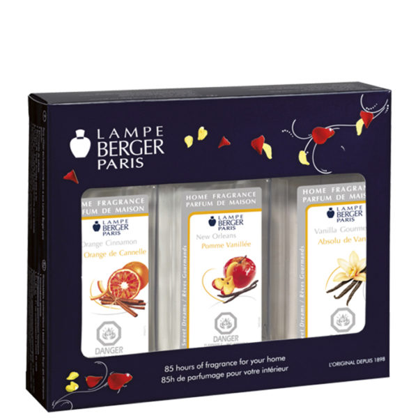 Trio Pack Warm home fragrance by lampe berger maison berger