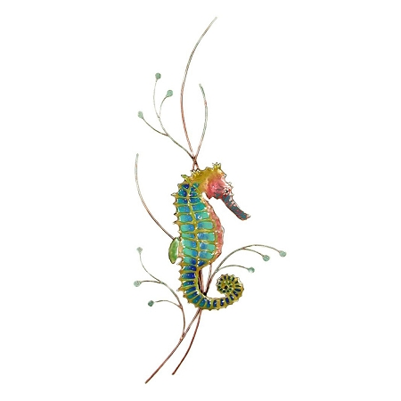 Rainbow Seahorse (Right facing)