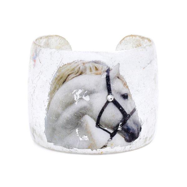 White Horse Cuff - Silver